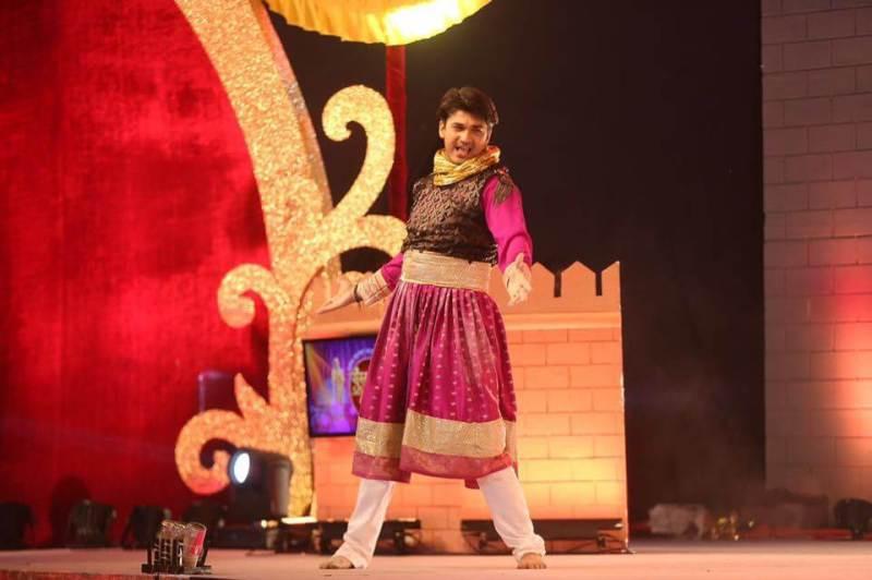 Madhav C Deochake doing theatre