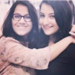 Poorvi Koutish With Her Mother