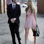 David with his girlfriend Edurde Garcia
