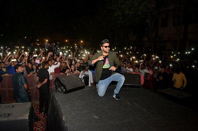 Guru Randhawa performing at an event
