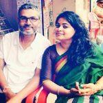 Nitesh Tiwari with his Wife