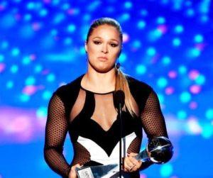 Ronda Rousey Received Best Athlete Award