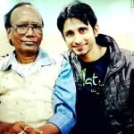 Nivaan Sen with his father