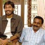Kasthuri Raja with Dhanush