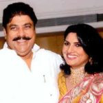 Ajay Singh Chautala with his wife Naina