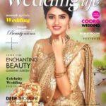 Gayathri Suresh on cover of Wedding Life magazine