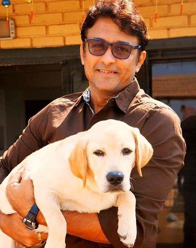 Ajinkya Deo loves dogs