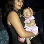 Nandish Sandhu daughter with his Ex-wife