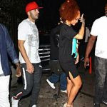 Karim Benzema with Rihanna