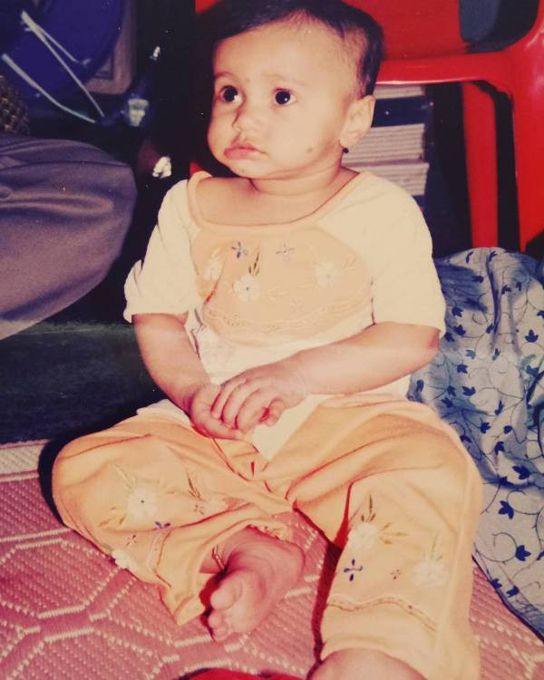Gauri Ingawale's childhood picture