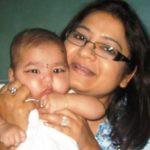 Anurradha Prasad With Her Daughter