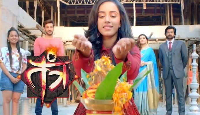 Sargun Kaur in the TV show-Tantra