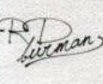 R. D. Burman's Signature