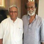 Rajinikanth with his brother Satyanarayana Rao