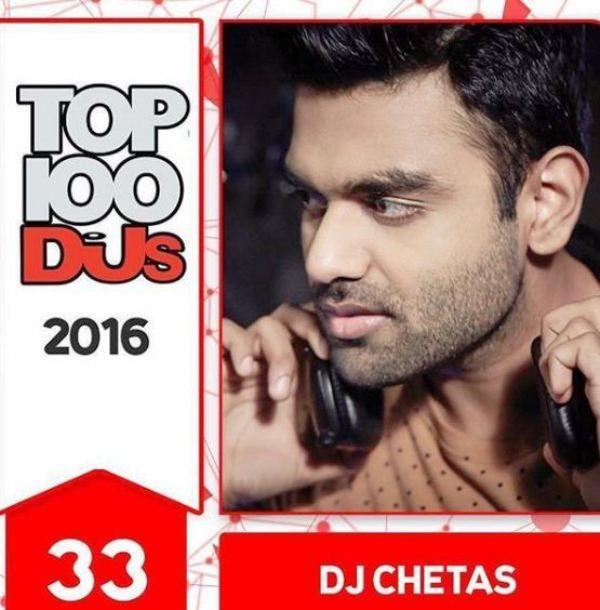 DJ Chetas among the Top 100 DJs