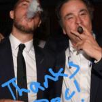 Eden Hazard smoking Cigar with Chelsea Club Doctor