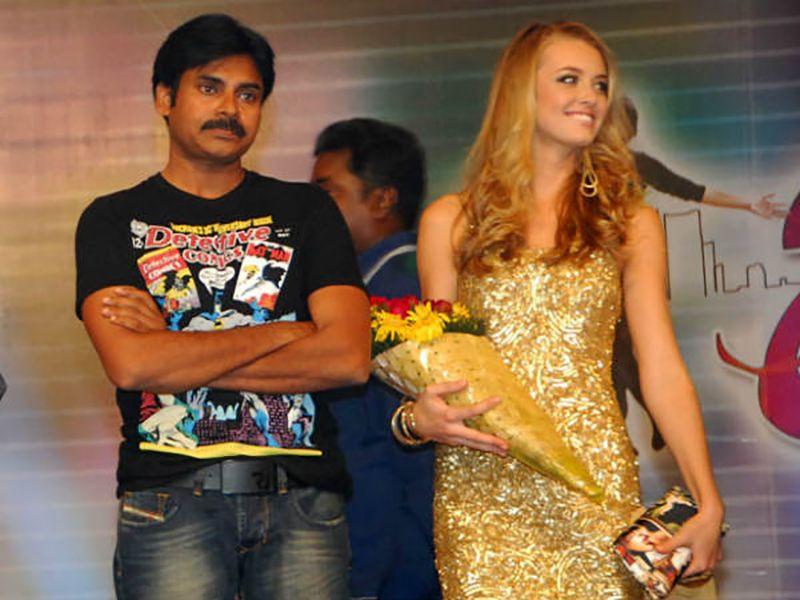 Pawan Kalyan with Dana Marks