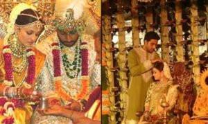 Neeta Lulla designed Abhishek Bachchan and Aishwarya Rai Wedding Outfits