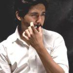 Abhay Mahajan smoking
