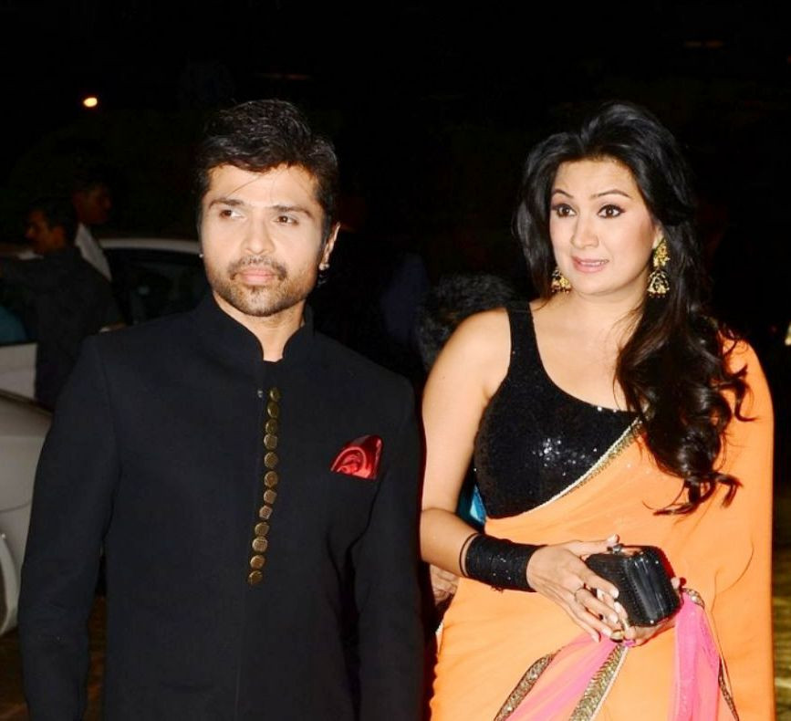 Himesh Reshammiya and Sonia Kapoor