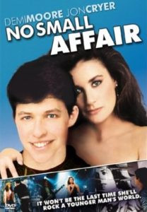 """Demi Moore's first leading role in """"No Small Affair"""""""