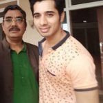 Ruslaan Sayed With His Father