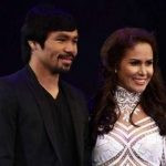 Manny Pacquiao with his Wife