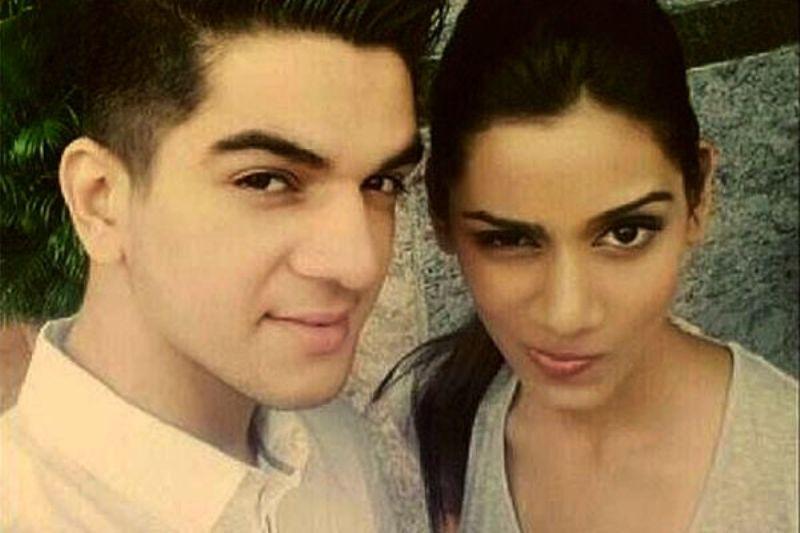 Ashwini Koul with Sanjana Ganesan