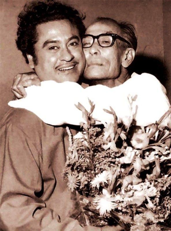 S . D. Burman With Kishore Kumar