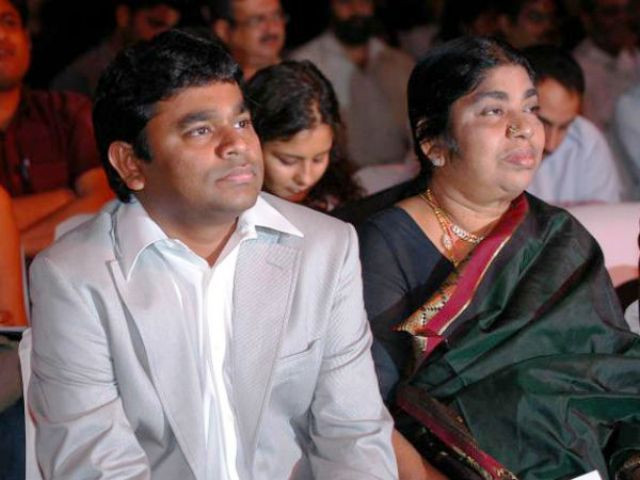 A. R. Rahman With His Mother