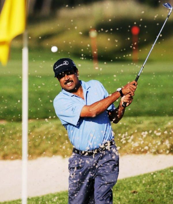 Kapil Dev Playing Golf
