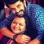 Yash Soni with his mother