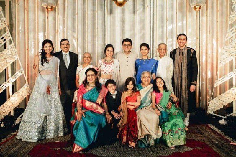 Aparna Krishnan with Her Family