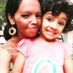 Laxmi Agarwal with her Daughter, Pihu