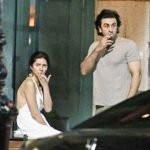 Ranbir Kapoor and Mahira Khan smoking