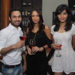 Mashoom Singha drinking