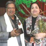 Vijay Tandon with his wife