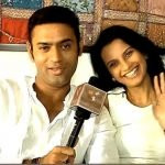Bhanu Uday With His Wife Shalini