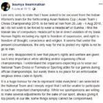 Soumya Swaminathan's Facebook Post
