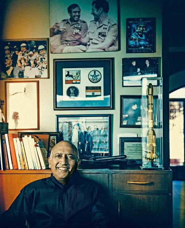 Rakesh Sharma With His Space Mission Memories