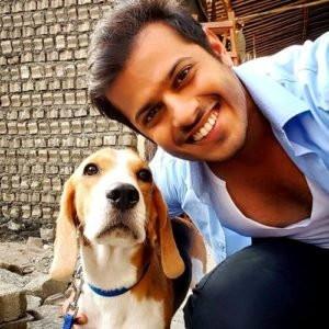 Neil Bhatt loves dogs
