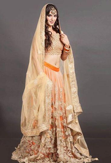 Rashalika wearing Indian Attires