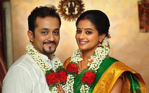 Priyamani's wedding picture