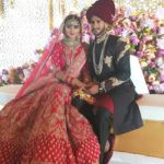 Shamia Arzoo with her husband