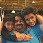Ritwik Sahore with his father & brother