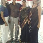Akanksha Corda family