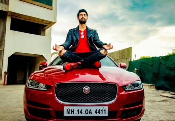 Tanuj Virwani's car