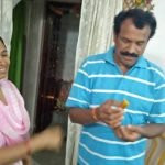 Nandini KR's parents