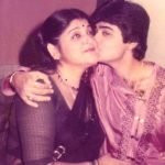 Ratna Chatterjee with son Prosenjit