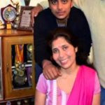 Ishan Kishan's mother and brother
